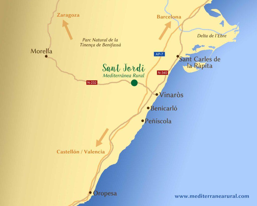 Descubre una casa rural única en Castellón para vivir una experiencia con tu familia. ¿Sabes dónde estamos?